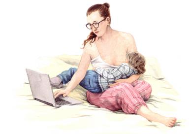 Attachement Parenting: Verbunden oder angebunden?