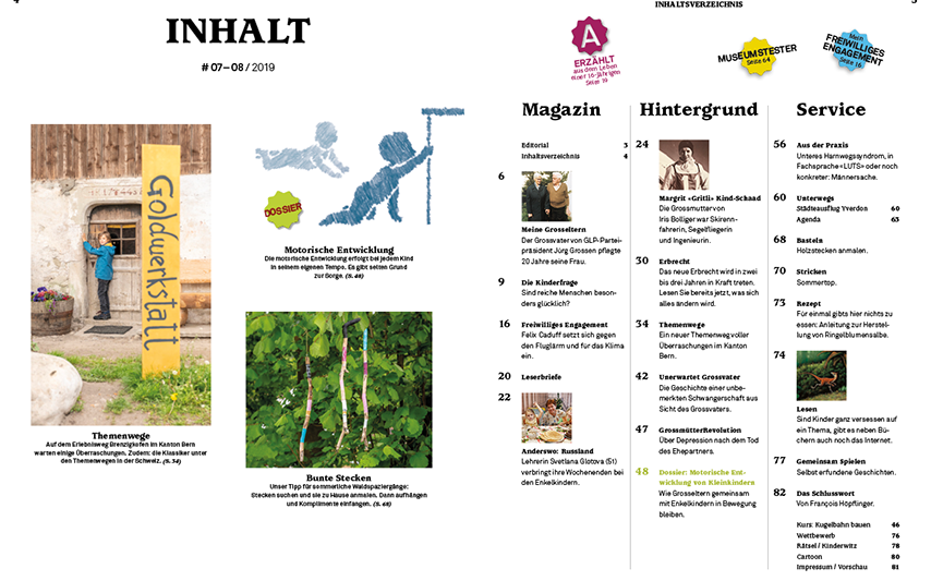 Grosseltern-Magazin 07/2019