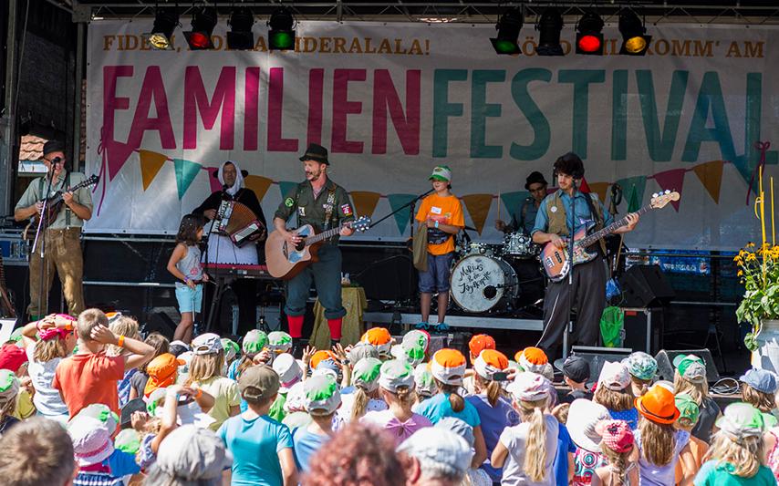 Familienfestivals: Wo der Sommer ausklingt