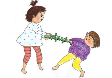 Dossier: Wenn Kinder streiten