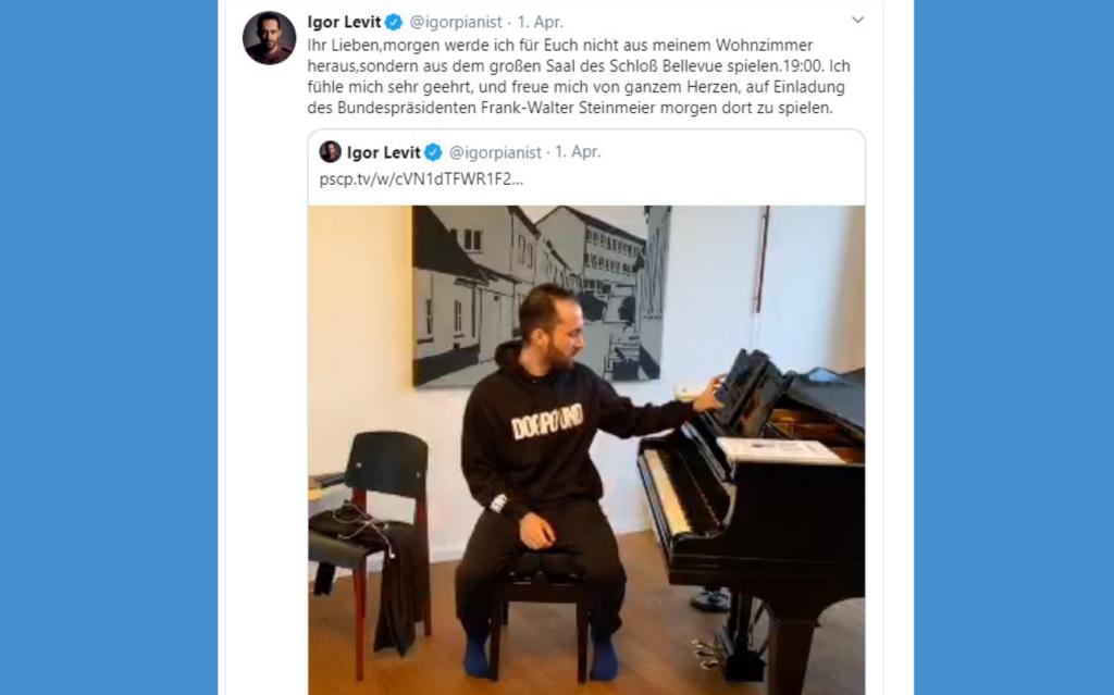 Igor Levit Hauskonzert